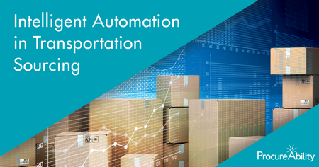 Intelligent Automation in Transportation Sourcing